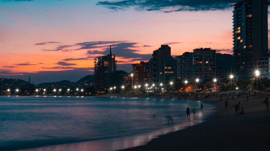 Acapulco Mexique ville