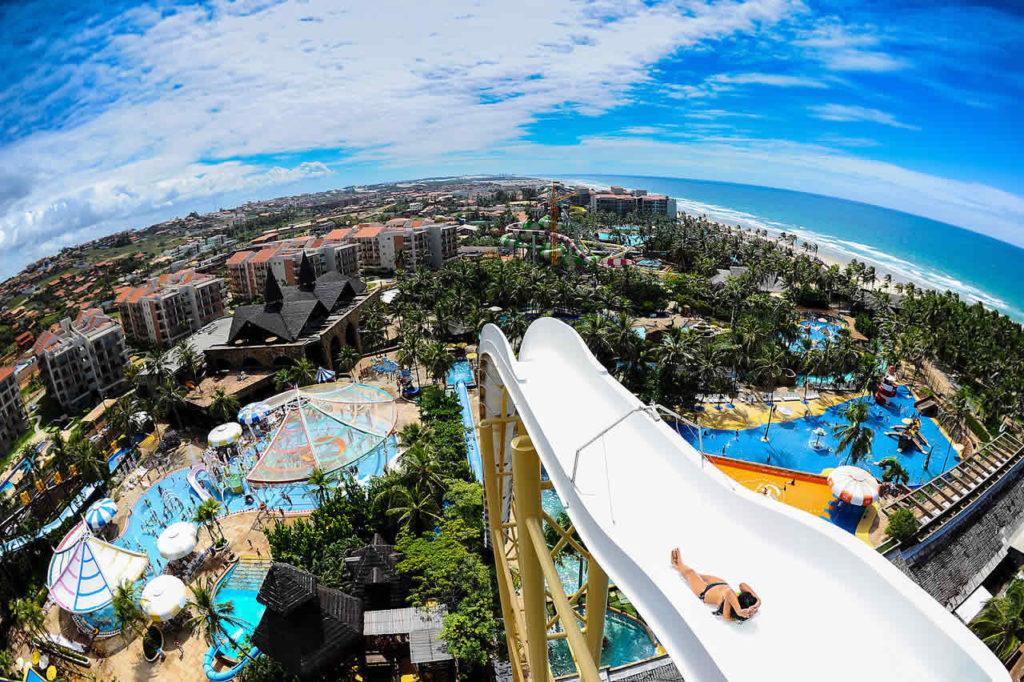 Fortaleza beach park Bresil