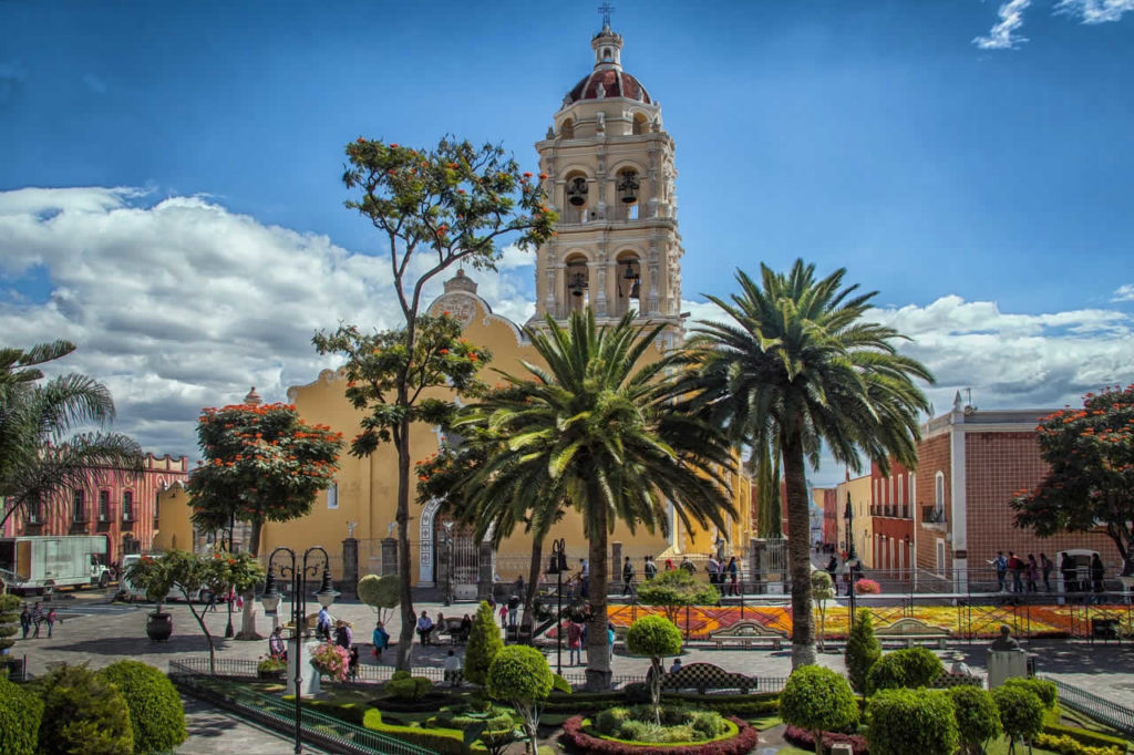 Puebla Mexique villr